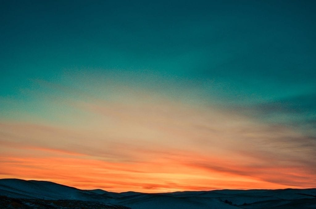 Sonnenuntergang Hintergrund